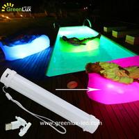 GreenLux LED inflatable hammock Lay bag /layback/laysac/lay beany Light kits factory in China