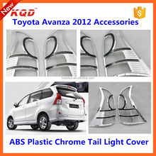 Perfect fitment toyota cars avanza 2 color lamp cover head light cover kit