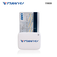 Encrypted Mobile Card Reader EMV certificated support Credit Card