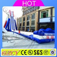 Commercial waterproof material inflatable water slide used water park slide for sale