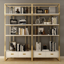Nordic iron floor living room <strong>shelf</strong> household decorative wall <strong>shelves</strong> modern multi-layer double drawer storage