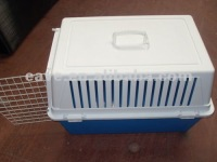 CA013 White Color Dog Pet Air Carrier Plastic Material Pet Cages