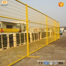 Hot dipped high quality portable galvanized metal temporary fence panels