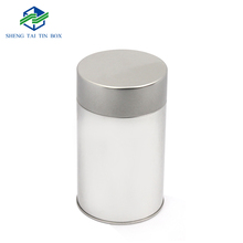Wholesale Silver Metal Round Promotions Gift Decorated Tin Can
