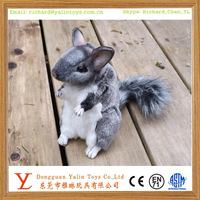 Cute animal chinchilla plush stuffed toy