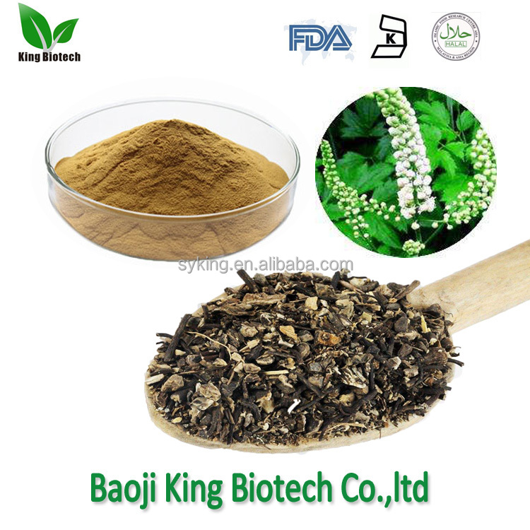 100% nature Black Cohosh extract powder Black Cohosh Root Extract