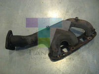 Ductile Iron ( SG Iron ) / Grey Iron Cast OEM Flexible Manifold Auto Pipe