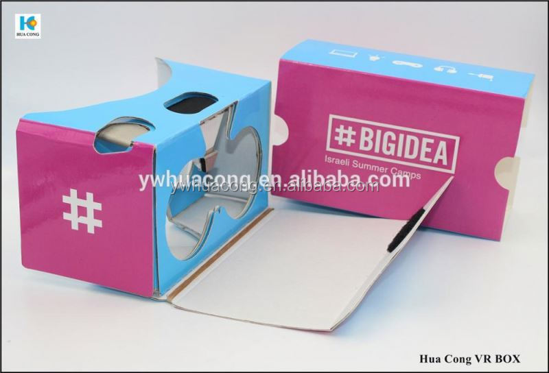 new item for cardboard 3d glasses with vrious print and design