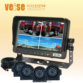 New Car Accessaries Truck Monitor Rear View Camera for Peugeot Truck