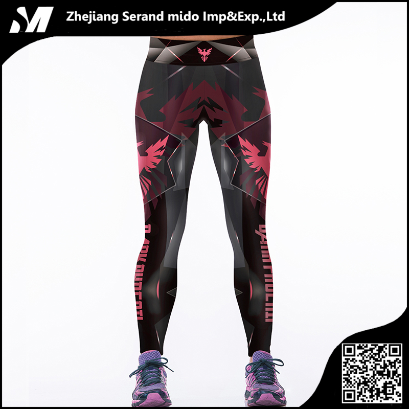 Women Sports Workout ReticularTight Stretch Custom Sexy Pants