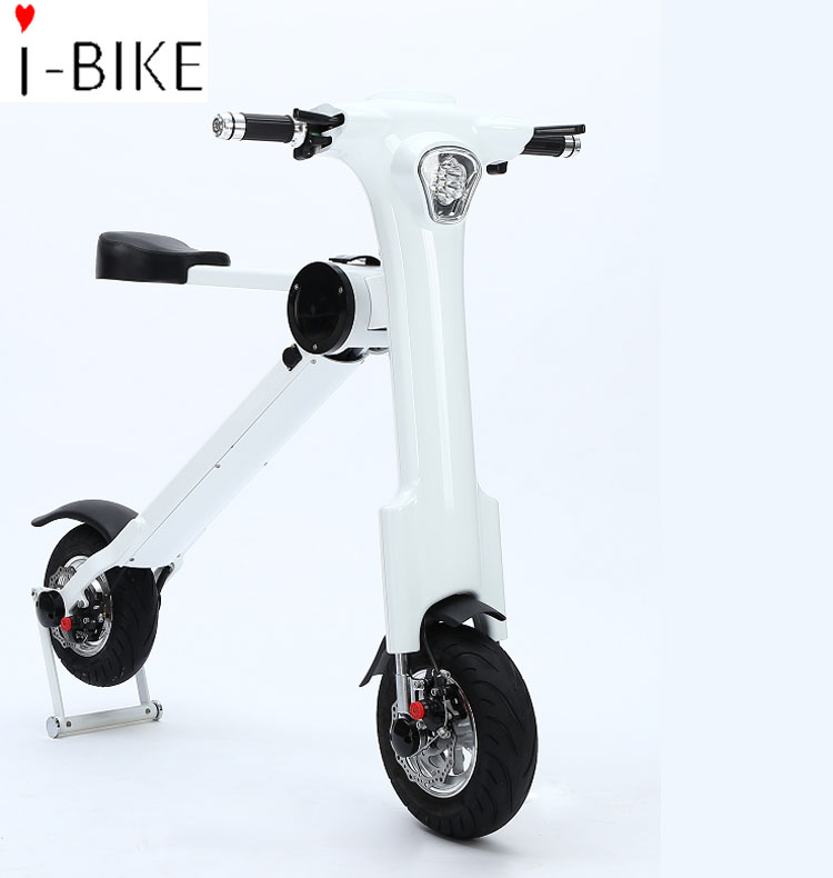 2017 new smart light electric bicycle scooter for youth with bluetooth available