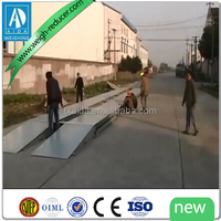 Industry specific platform 80 tons car scales 3 x16m mobile truck scale
