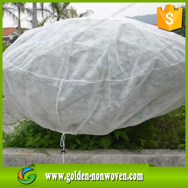 pp non woven agriculture protection landscape/plant cover non woven bag 100% polypropylene supplier