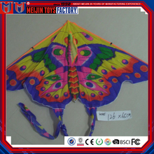 Chinese Eco-Friendly material children polyester butterfly kite