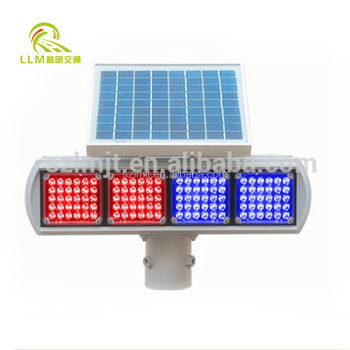 530mm x 170mm x 140mm120pcs led traffic light with red blue flashlight