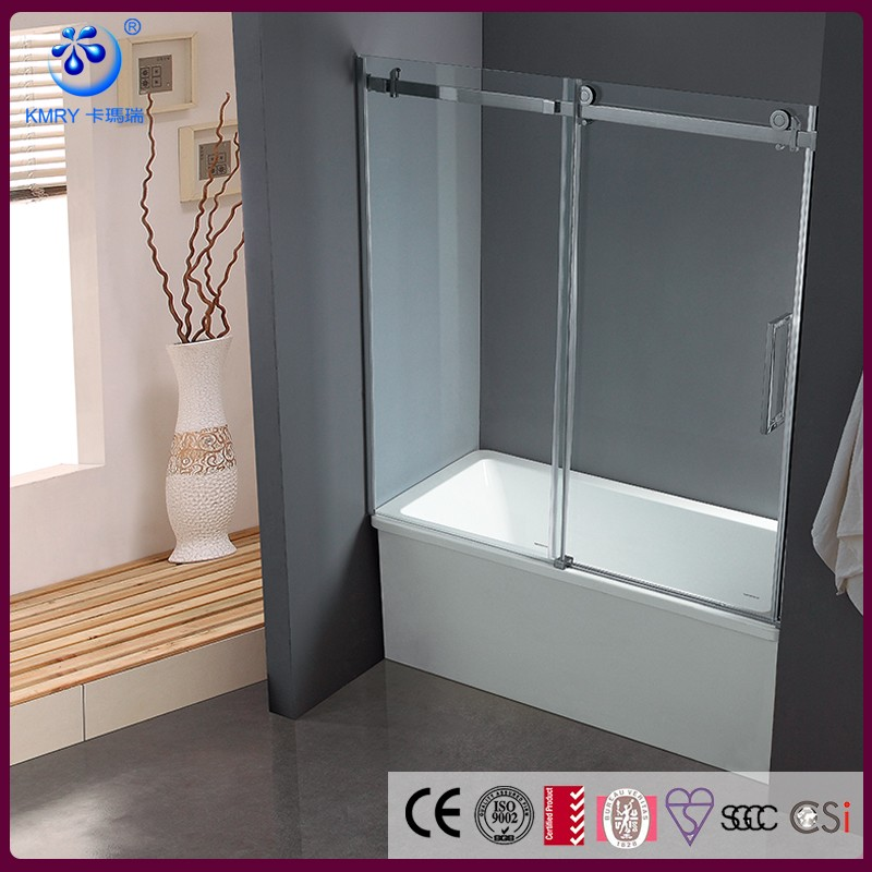Bypass Sliding Bathtub Glass shower cabins for sale Shower KD8113T