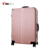 Hardside spinner 4 wheels luggage bags case big lots travel time aluminum trolley suitcase