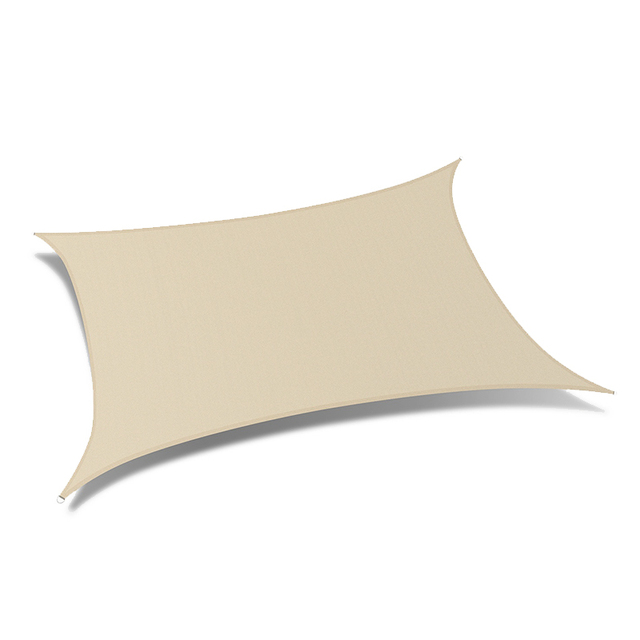 High quality outdoor UV treated privacy garden waterproof retractable awning/sun shade sail