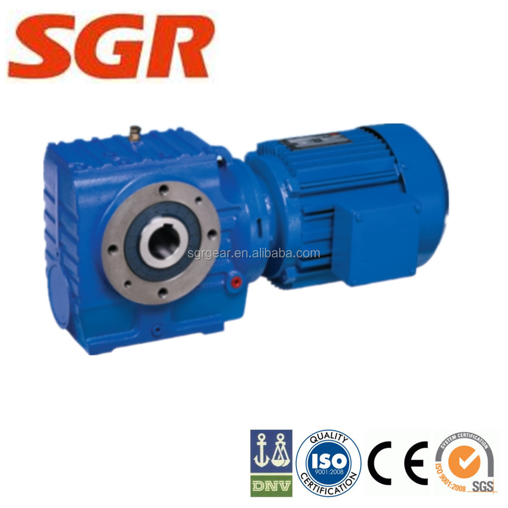 Helical-Worm Gear Reducer sumitomo gear motors