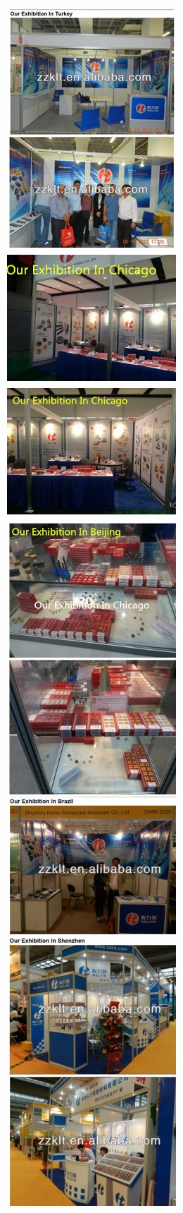 Turning inserts cnmg120408 -mt manufacture in zhuzhou China