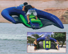2015 giant inflatable flying manta, inflatable flying Kite Tube, inflatable flying manta ray