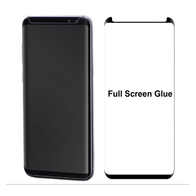 S8 Full Adhesive Tempered Glass Screen Protector For Samsung Galaxy S8 / S8 plus Full glue protector