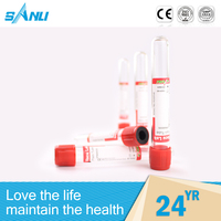 Evacuated blood collection tubes red blood tube for sale