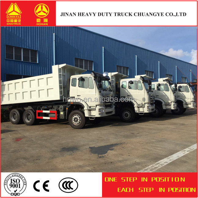 Widely used heavy duty tipper/dump truck