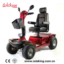Big Size 4wheel Golf Mobility Scooter/Electric Golf Scooter Battery Powered 24V