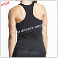 2017 Hot Selling outdoor racer back womens sports singlet top