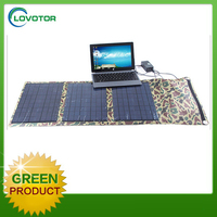 Laptop solar charger 40W handy power charger for mobile phone