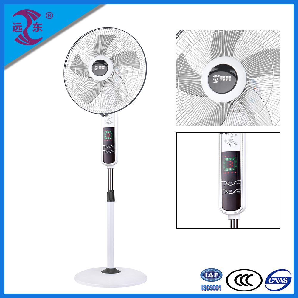 2016 alibaba hot sell 18 Inch remote control standing fan electric