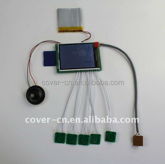 new business ideas patent,lcd display components,USB module for videos,cards and toys