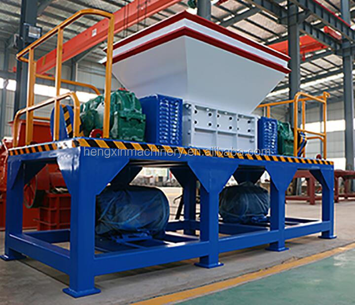 china supplier waste tire shredding plant for recycling scrap tyre
