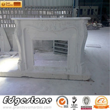 Artificial Stone Cultured Marble Fireplace Surround