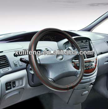 New simple pu car steering wheel cover of china 2015