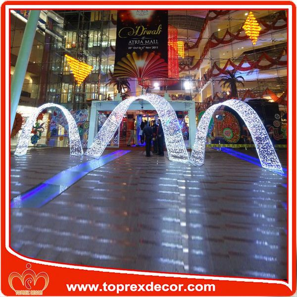 Manufacturer LED Arch large outdoor christmas lights