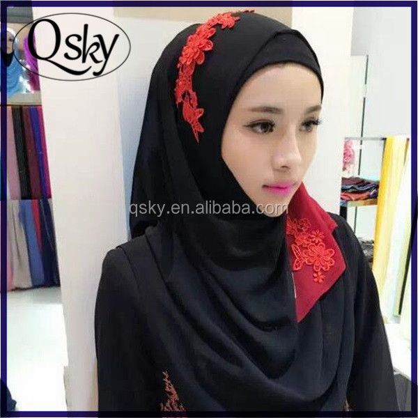 Wholesale Hot New Style Muslim dubai hijab islam scarves hot arab sexy girls