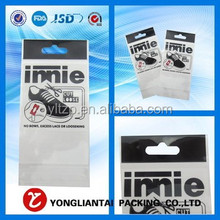 where to buy small plastic bags for jewelry/opp header bag/resealable plastic bags with hang hole