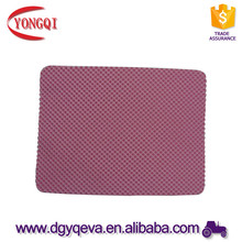 Antiskid ventilated multihole EVA foam outsole sheets