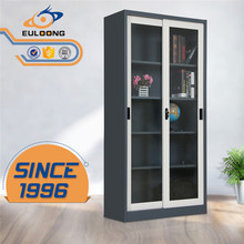 2017 Hot Sale Mirror Glass Door Steel Filing Cabinet