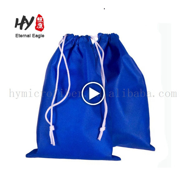 Cute foldable carry non woven backpack shopping bags