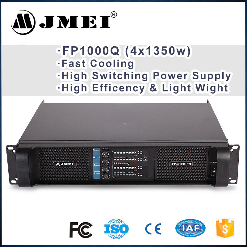 Guangzhou Electronics FP10000Q Powered Professional Amplifier for Line Array