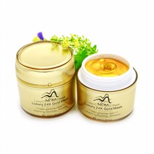 Gold Mask - Hyaluronic Acid - Collagen - 80% Pearl - Chocolate - Lavender Peel Off Facial Mask Powder Luxury Spa