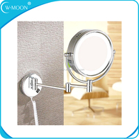 Bathroom Double Side Wall LED Mirror