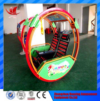 factory direct sales electric ride for children/ amusement swing ride le bars happy car