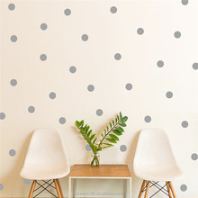 Turquoise Circles Polka Dots Vinyl Wall Graphic Decals Stickers dot sticker