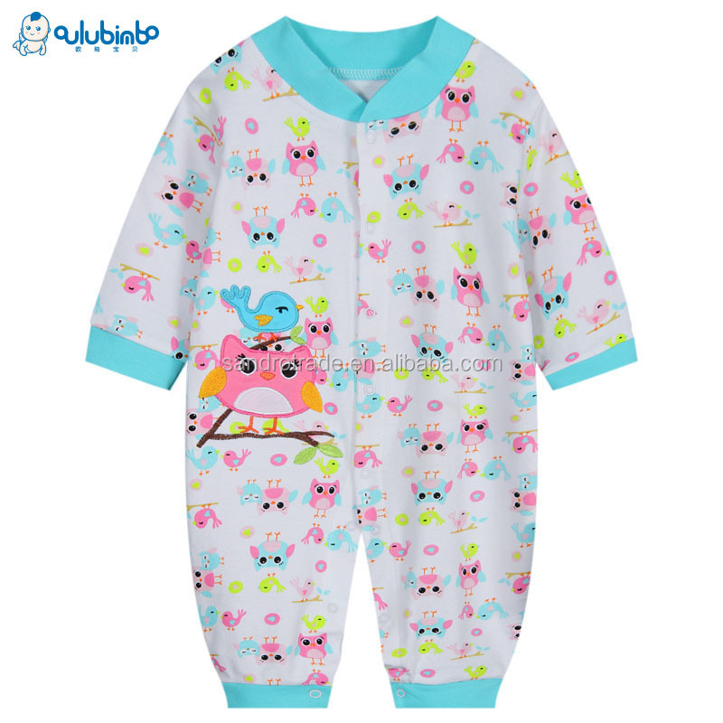 Hot Sale Knitting Cotton Infants Baby Romper Carton Animal Infant Climb Costume Rompers