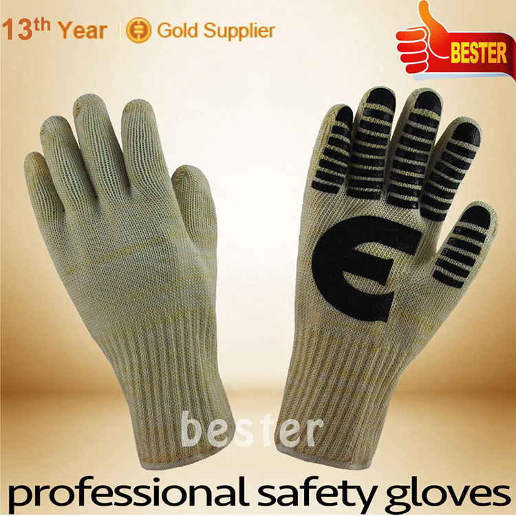 China good supplier hot sell heat resistant leather gloves buyers