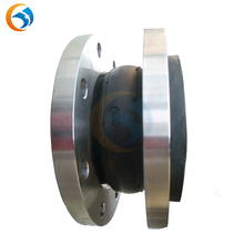flange type single arch rubber expansion joints concrete